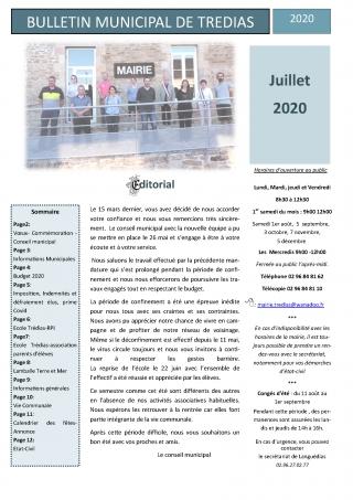 Bulletin juillet 2020